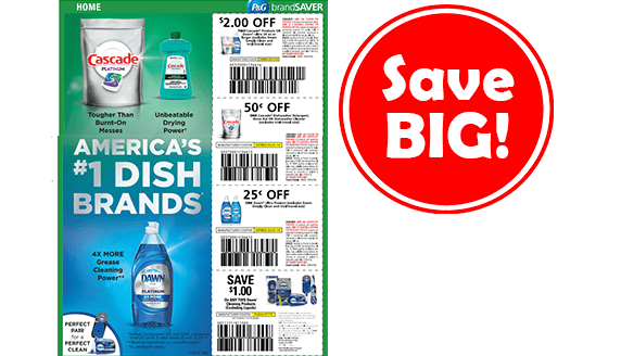 photo regarding Dawn Coupons Printable titled Help save Large upon Cascade Sunrise with Fresh new Coupon codes! - CouponMom Blog site