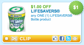 Lifesavers mints bottle
