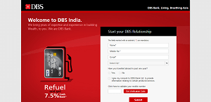 DBS Bank Debit Cards Offer