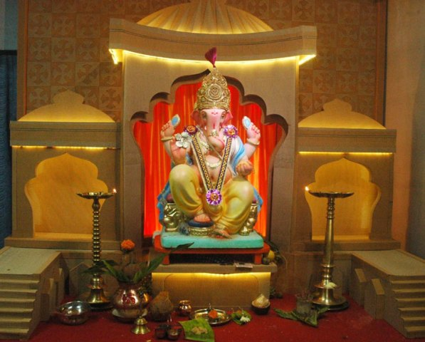 best ideas for ganpati decoration at home hd images wallpaper