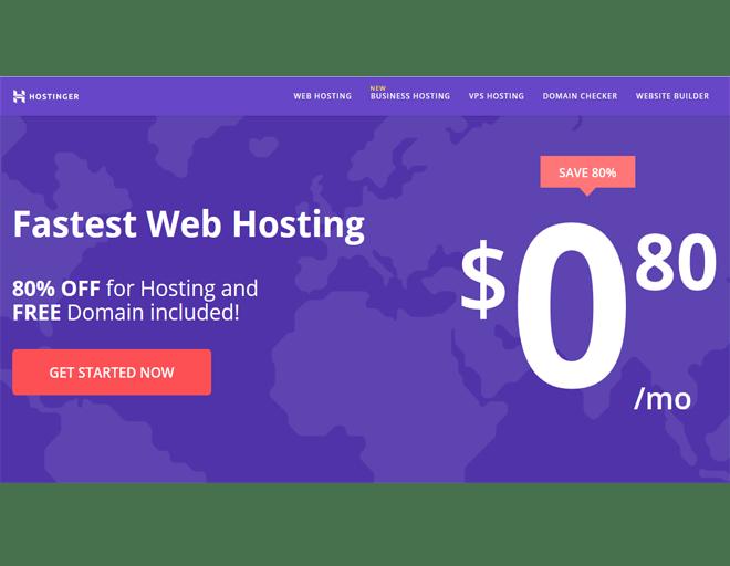 Europe top buy Hostinger hosting Providers + buy Domain: Web Hosting Services
