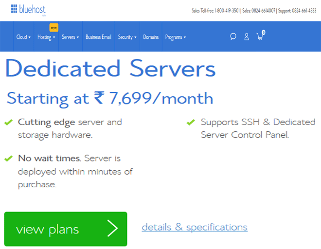 Bluehost coupon India, discount on Dedicated servers hosting coupon code, coupon 2018