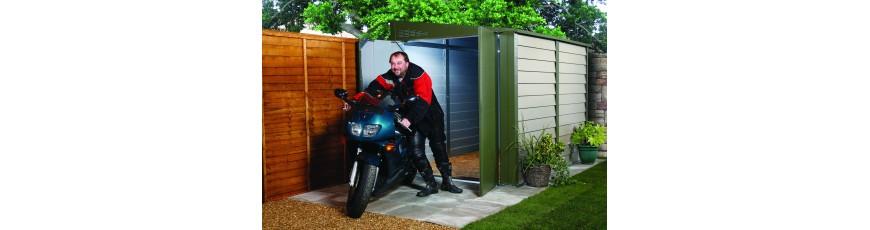 abri velo moto abris de jardin