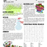 Patterson Post 09/10 Christmas Newsletter Cover
