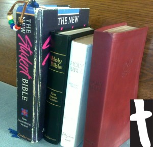 Stack of Bibles - Acronym for Bible