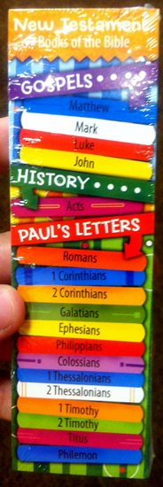 Books of the New Testament - Gospels, History & Paul's Letters - Bookmarks