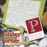 Patterson Post 2012 - Recipe Guide Cover
