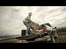 So God Made a Farmer image from the Super Bowl Commercial featuring Paul Harvey for Dodge Ram Trucks.