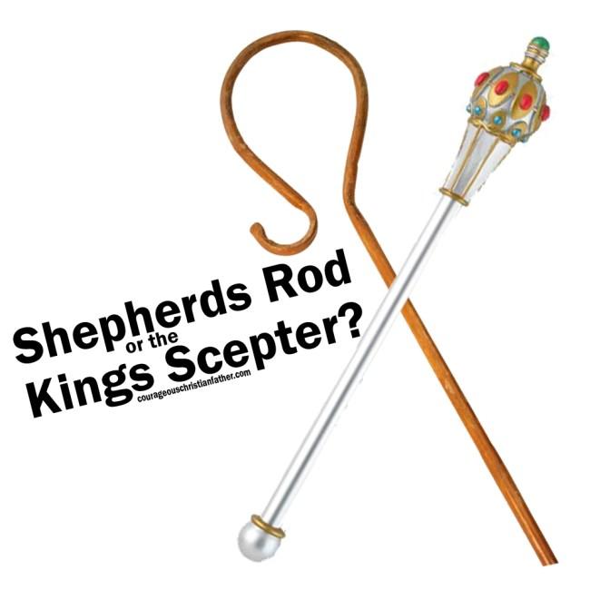 Shepherds Rod or the Kings Scepter?