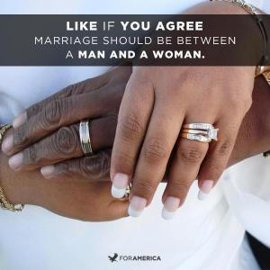 Marriage should be between a man and a woman by ForAmerica