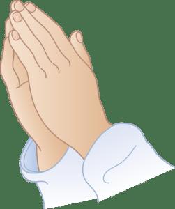 Praying Hands - SIGCO Pray 2016