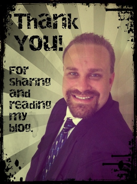 Thank You! For Sharing and reading my blog. (A Time of Thanks) Steve Patterson - ChristianBlogR