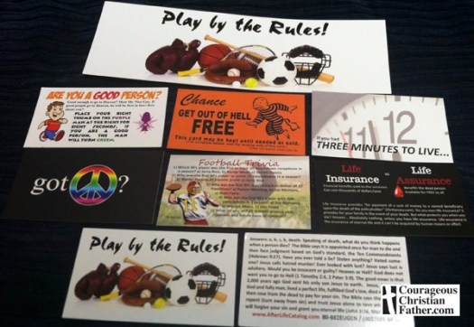 Bezeugen Tract Club tracts