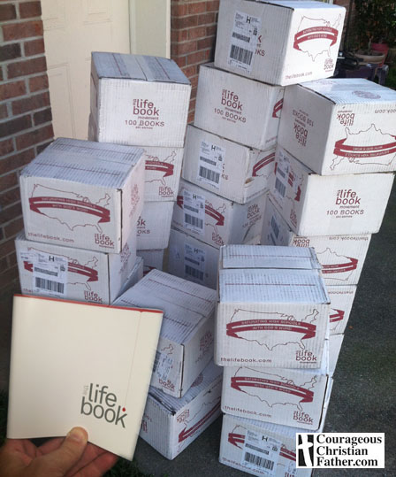 The shipment of the life book - now to saturate these (thelifebook)