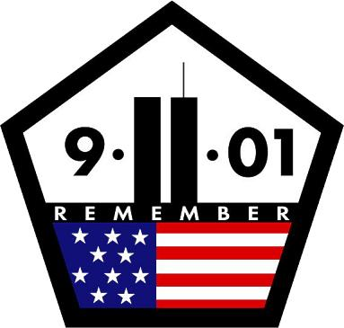 9-11-01 REMEMBER - Patriot Day & National Day of Service & Remembrance (September 11)
