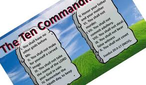 The 10 Commandments - Bezeugen tract