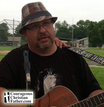 Bob Neal at Block Party in Newport, TN during Youth Difference Makers Camp.