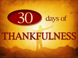 30 Days of Thanksgiving Day 6
