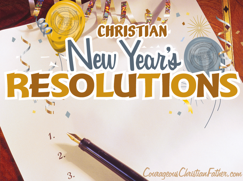 Christian New Years Resolution