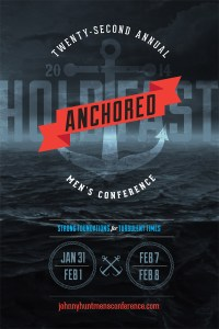 Johnny Hunt's Mens Conference Poster 2014
