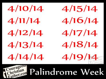 Palindrome Week 2014