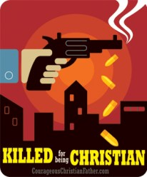 Killed for being Christian