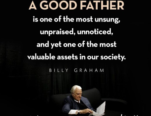 A Good Father - Billy Graham