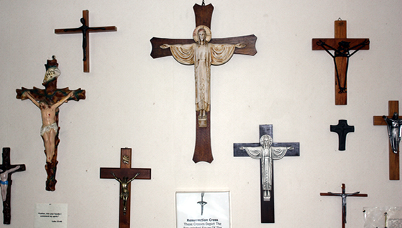 Cross Collection, Photo from Cumberland Inn Web site
