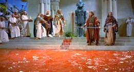 Moses water blood