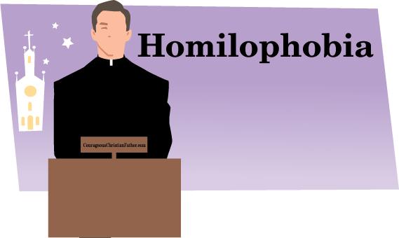 Homilophobia - Fear of Sermons