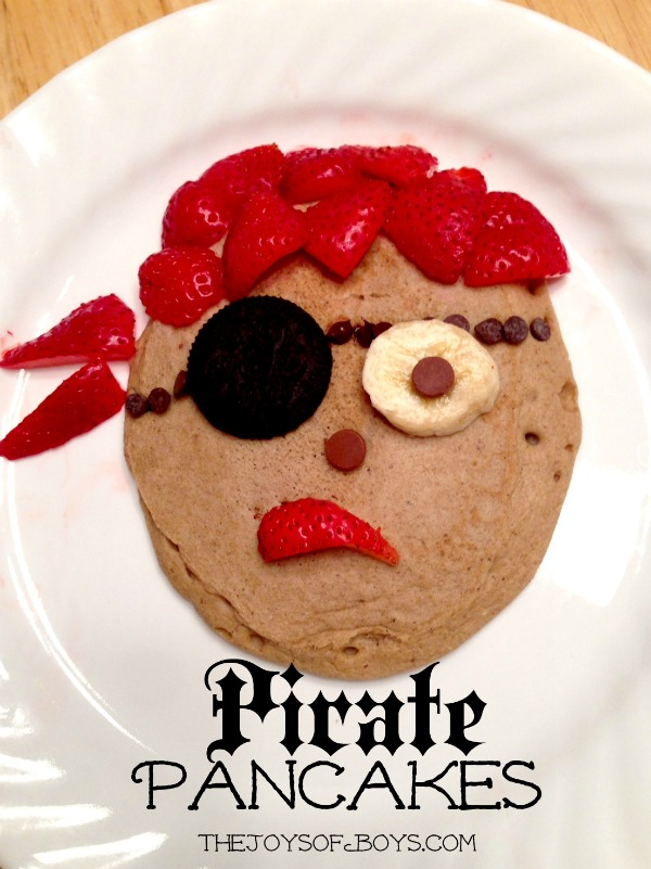 Pirate Pancakes | The Joy of Boys