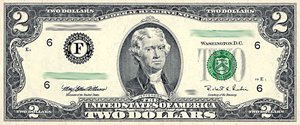 Two Dollar Bill Blessing