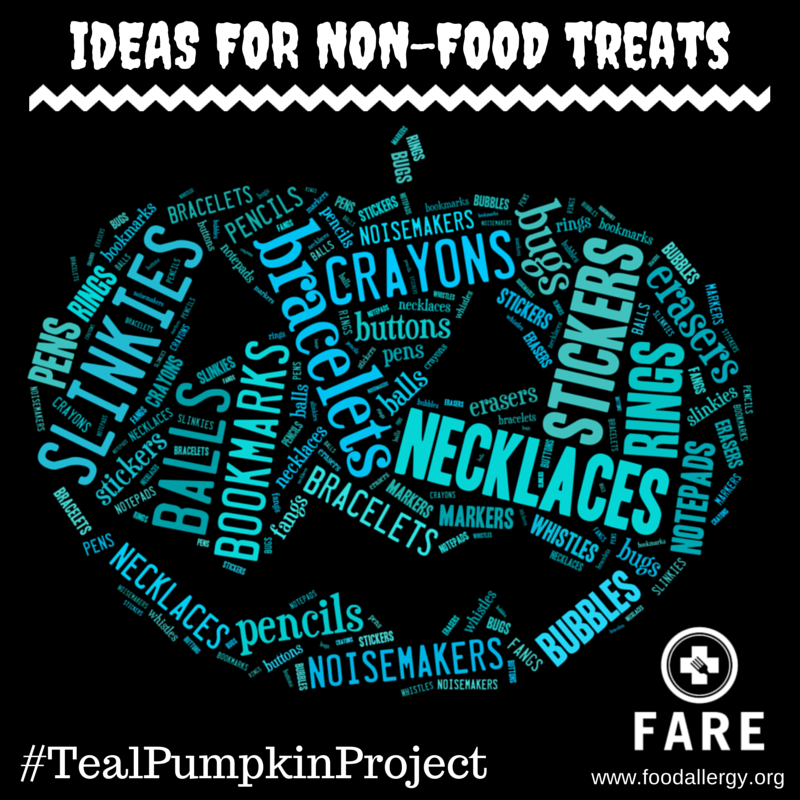 Teal Pumpkin Project – Some Ideas for Non-Food Treats