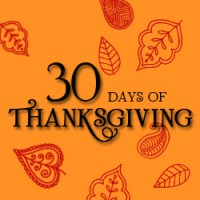 30 Days of Thanksgiving Day 8