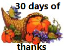 30 Days of Thanksgiving: Day 24