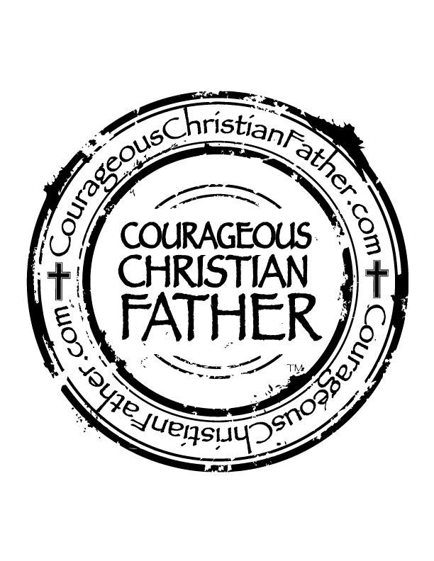 Courageous Christian Father Seal/Logo