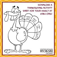 Thanksgiving fun sheet