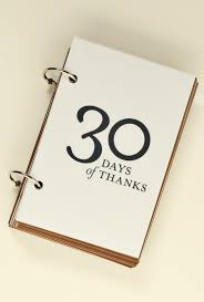 Day 16 of 30 Days of Thanksgiving