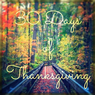30 Days of Thanksgiving: Day 23