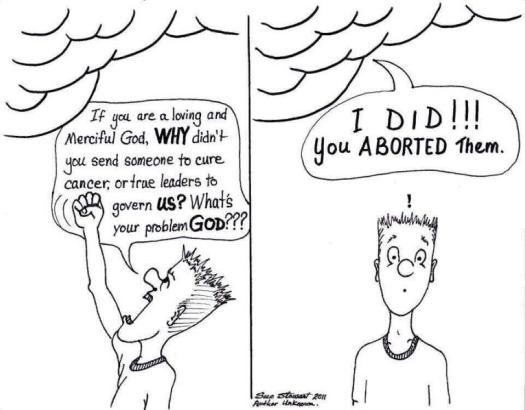 You Aborted Them Comic
