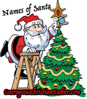 Over 15 Names of Santa Claus Across the World #SantaClaus #Christmas #Santa