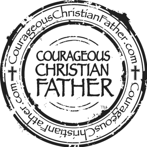 Courageous Christian Father Logo
