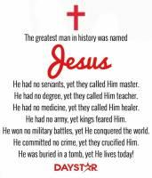 The Greatest Name - Jesus