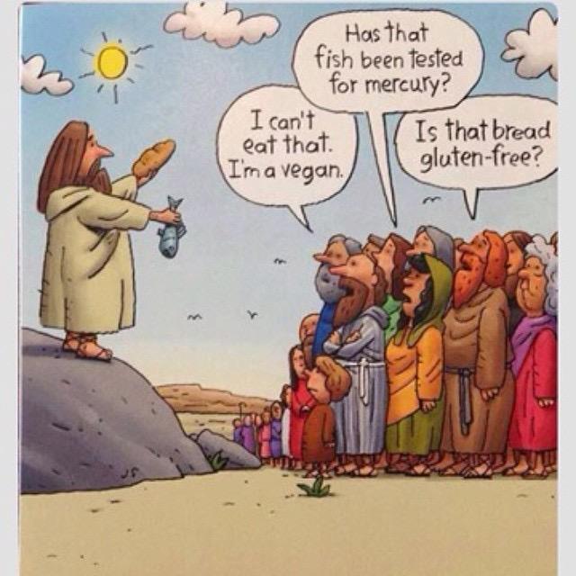 Feeding Multitudes Complaints Comic