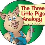 three little pigs analogy