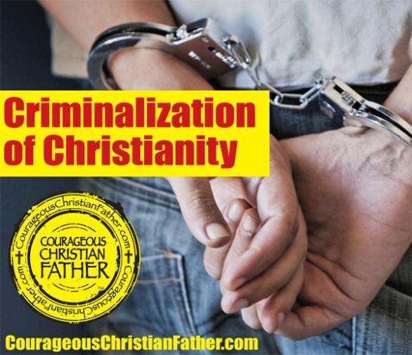 Criminalization of Christianity