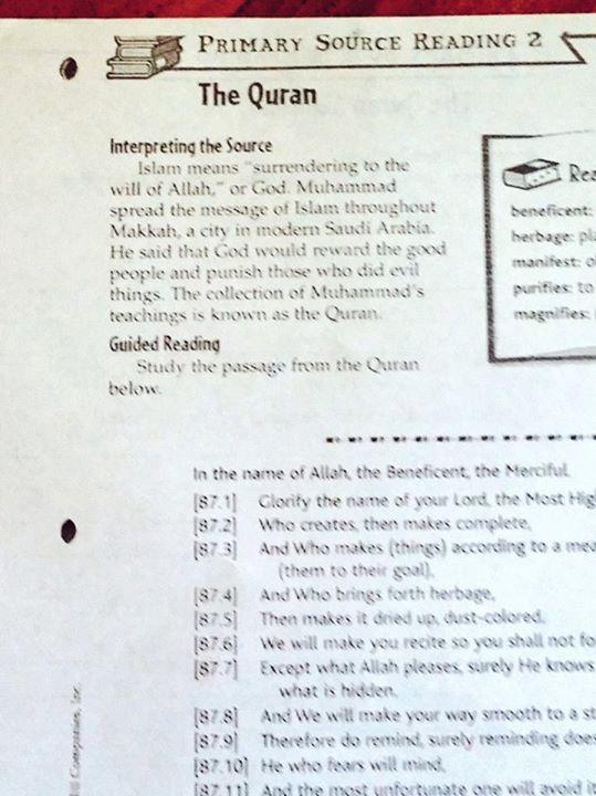 The Quran Homework image