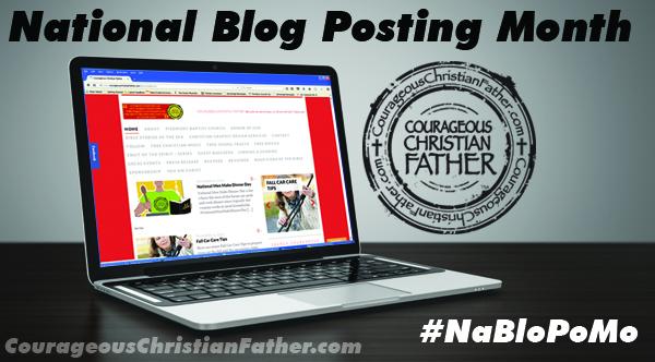 National Blog Posting Month (NaBloPoMo) #NaBloPoMo