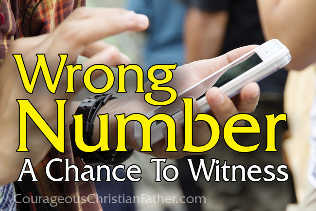 Wrong Number A Chance to Witness