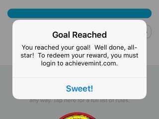 AchieveMint Screenshot